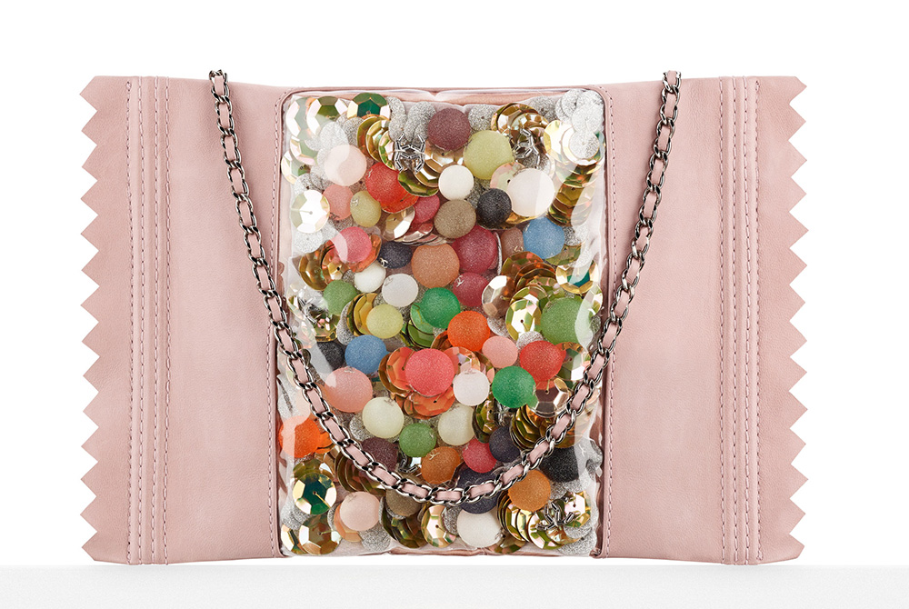 Chanel Candy Pack Clutch Light Pink 8800