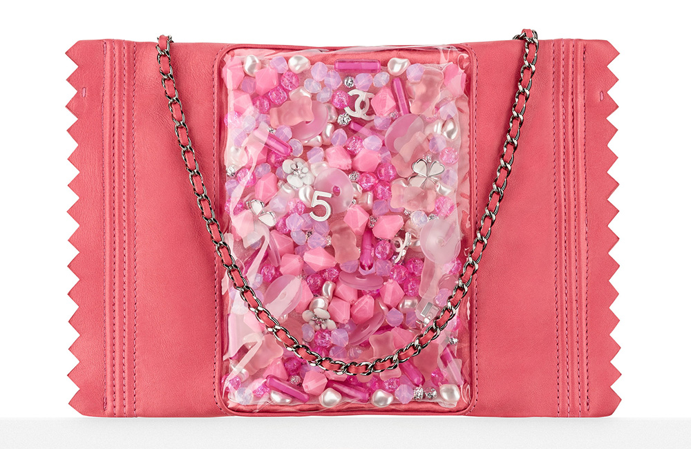 Chanel Candy Pack Clutch Pink 8800