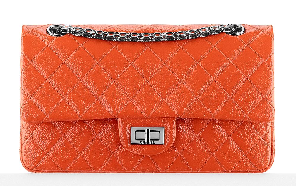 Chanel Small 2.55 Reissue Flap Bag Orange 4900