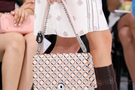 Dior's Spring 2015 Collection is Full of Sharp Shoulder Bags