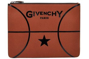 Man Bag Monday: Givenchy Basketball Leather Pouch