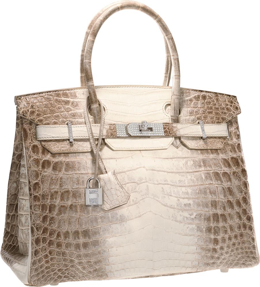hermes alligator bag - Heritage Auctions' Super Rare Herm��s Birkin Sold For $185,000 ...