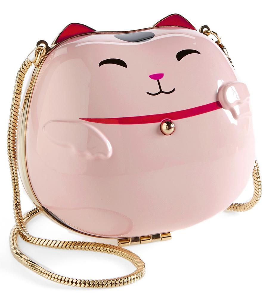 Kate Spade Hello Tokyo Cat Clutch