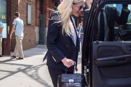 Kirsten Dunst Carries a Very Fancy Ferragamo Bag