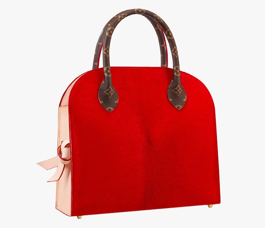 Louis Vuitton Christian Louboutin Shopping Bag Rear