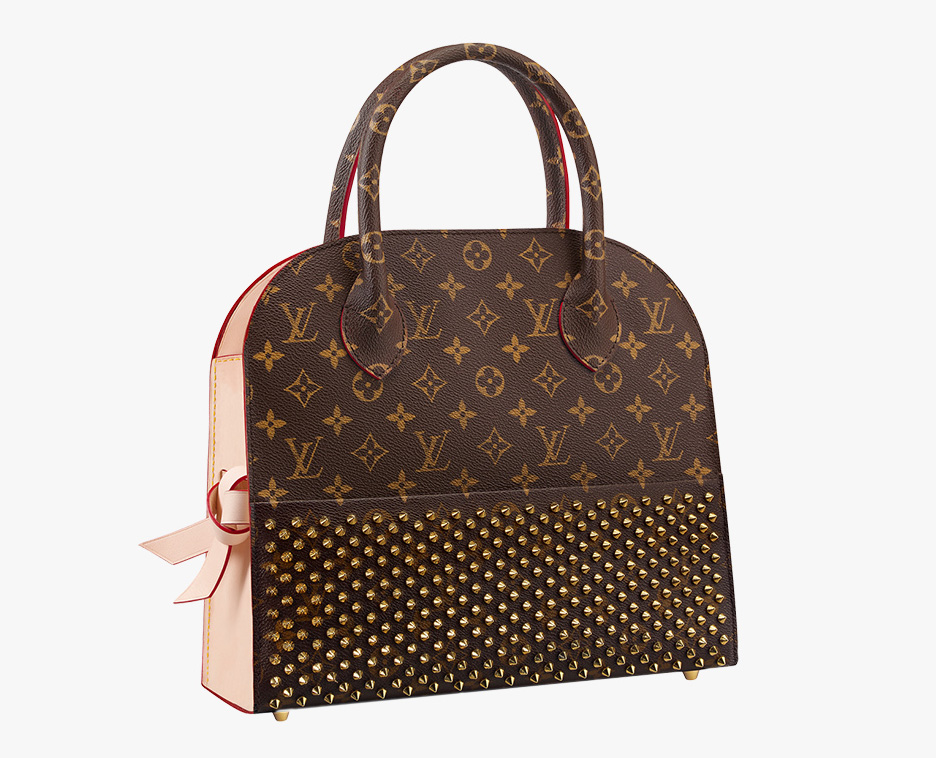 Louis Vuitton Christian Louboutin Shopping Tote