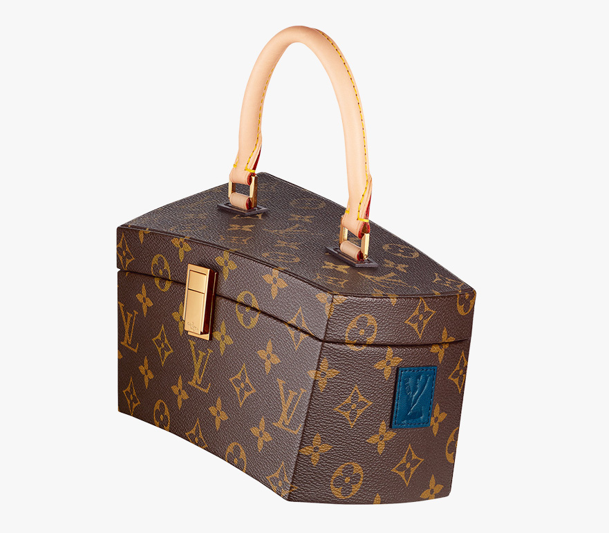 Louis Vuitton Frank Gehry Twisted Box Bag Side
