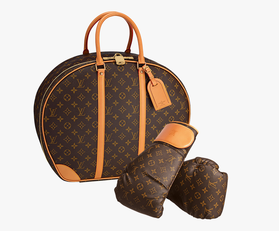 Louis Vuitton Karl Lagerfeld Punching Suitcase