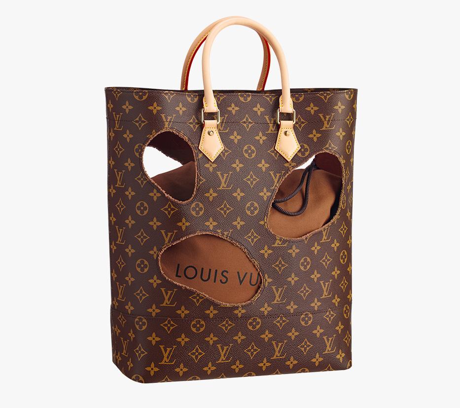 Louis Vuitton Rei Kawakubo Bag With Holes