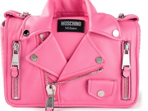 Moschino Medium Biker Shoulder Bag