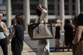 The Best Bags of New York Fashion Week Spring 2015 Street Style – Day One
