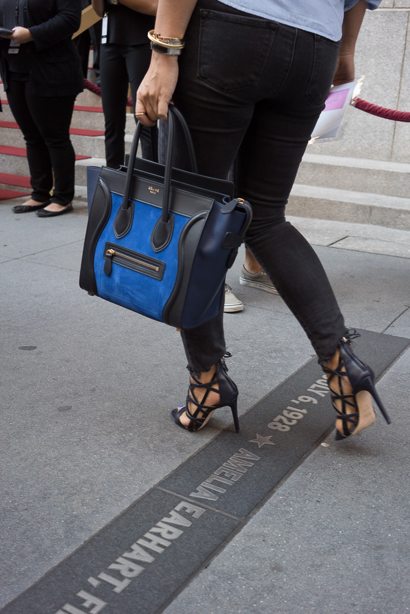 celini luggage - The Best Bags of New York Fashion Week Spring 2015 Street Style ...