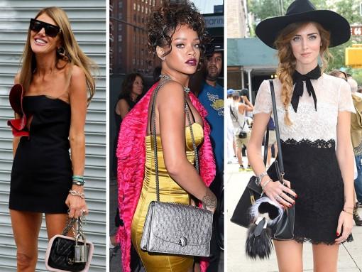 New York Fashion Week Celebrity Bags Spring 2015