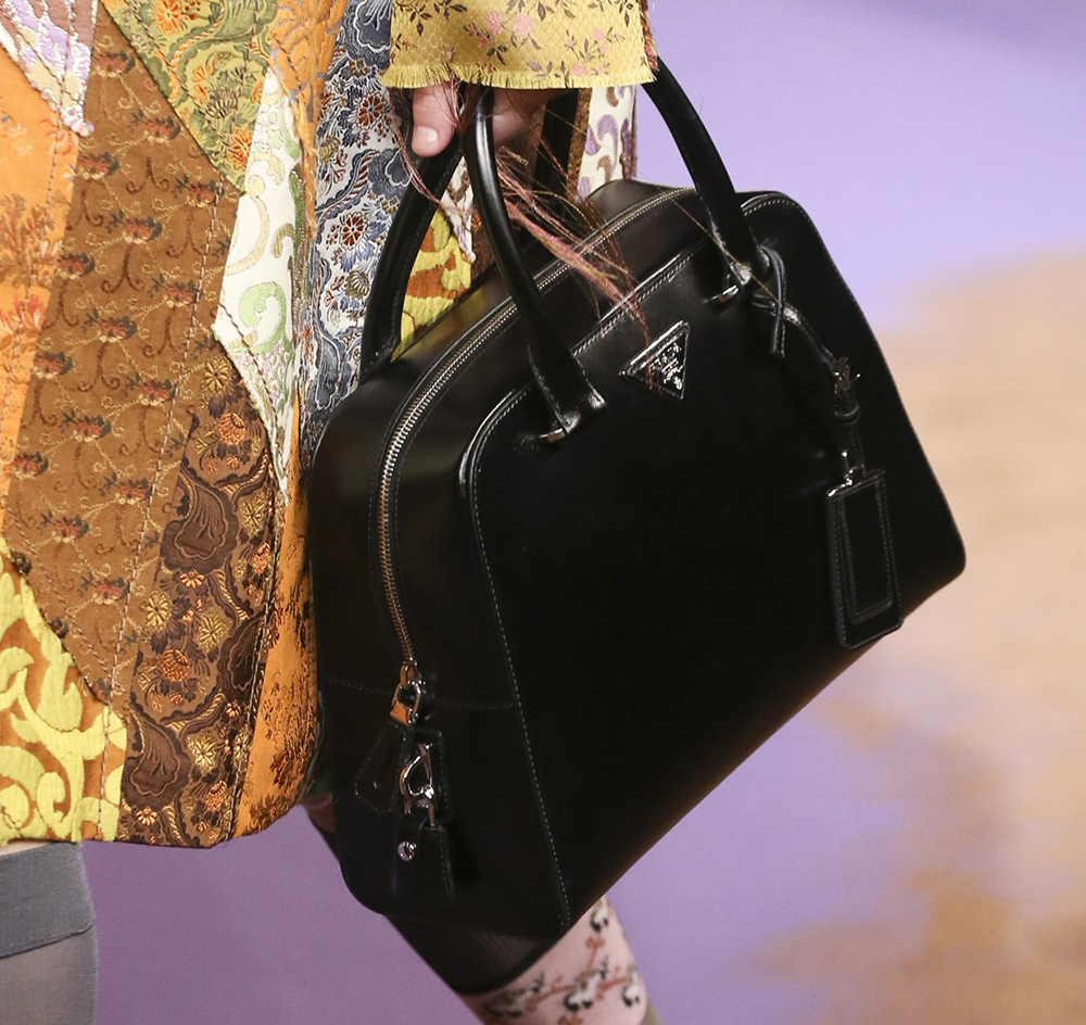 62a77cbfd38f ... tote bag green 2015 high quality sale a4c3c 9e5ed; discount code for  prada green purse are spring 2015s bags enough to aid pradas ailing handbag