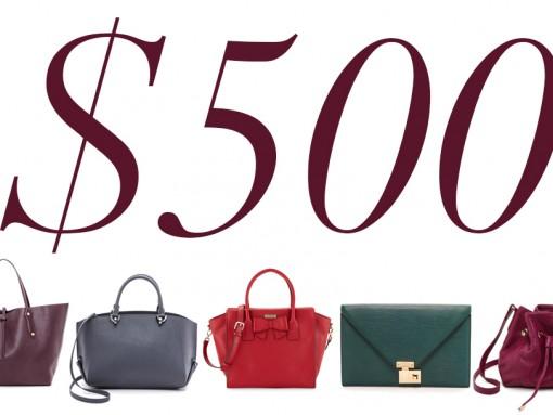 5 Under 500 Jewel Tone Bags