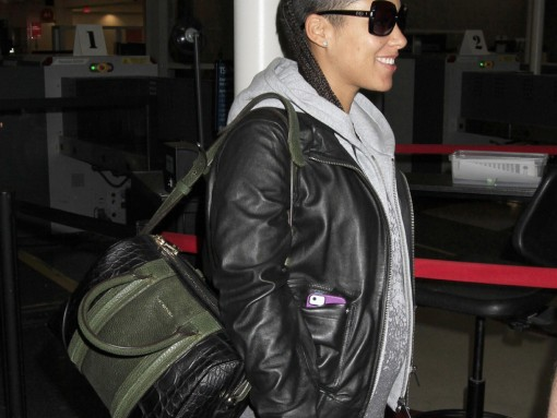 Alicia Keys Givenchy Lucrezia Satchel