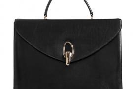 Armani Smooth Leather Top Handle