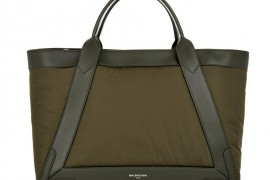 Bag of the Week: The Balenciaga Cabas Nylon and Leather Tote
