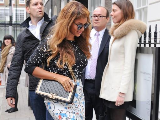 Beyonce Chanel Boy Bag