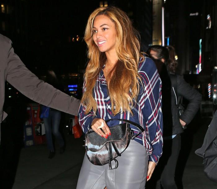 Beyonce Christian Dior Saddle Bag