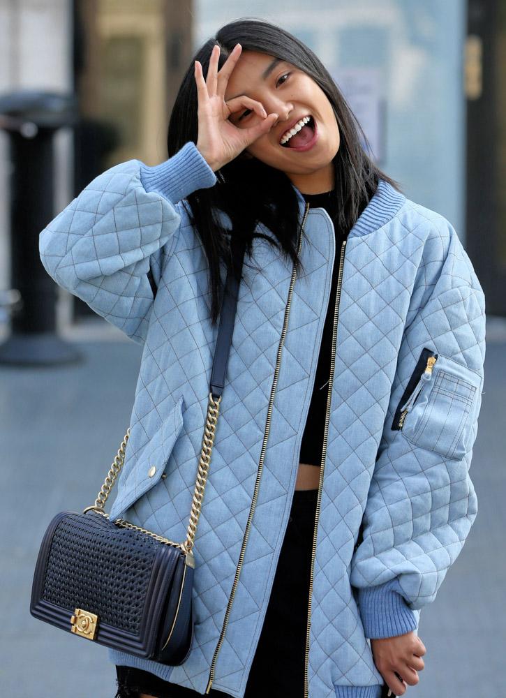 Celebrity Handbags Paris Fashion Week Spring 2015-1