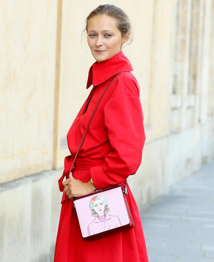 Celebrity Handbags Paris Fashion Week Spring 2015-10