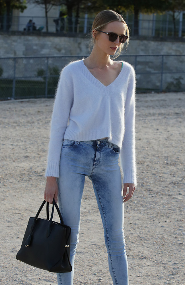 Celebrity Handbags Paris Fashion Week Spring 2015-11