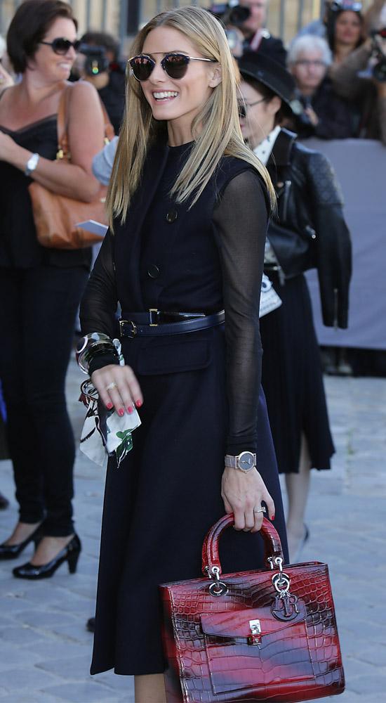Celebrity Handbags Paris Fashion Week Spring 2015-13