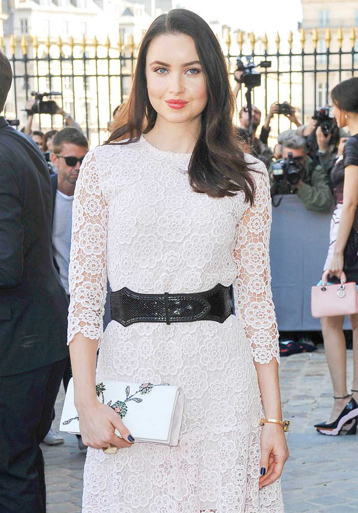 Celebrity Handbags Paris Fashion Week Spring 2015-17