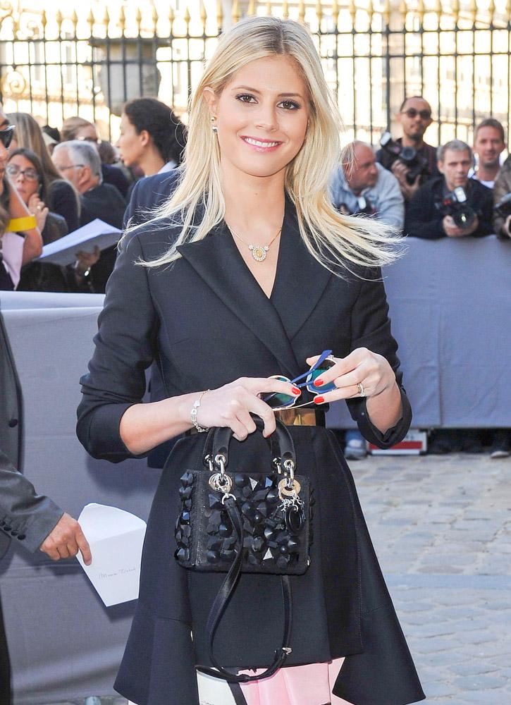 Celebrity Handbags Paris Fashion Week Spring 2015-19