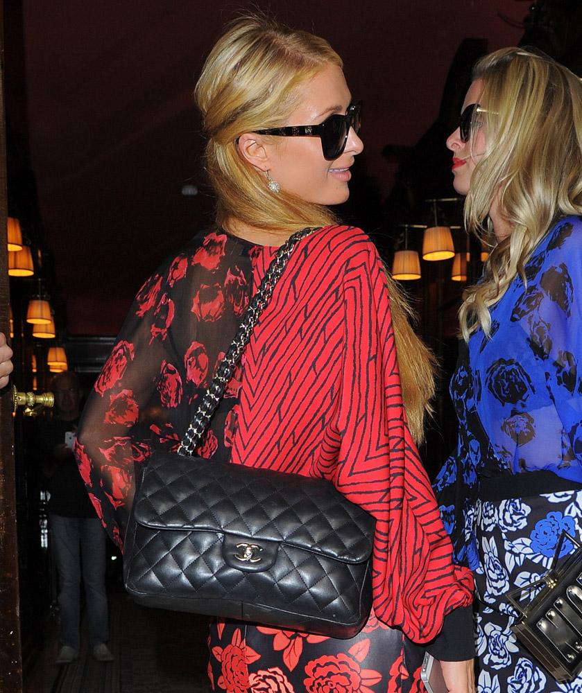 Celebrity Handbags Paris Fashion Week Spring 2015-31