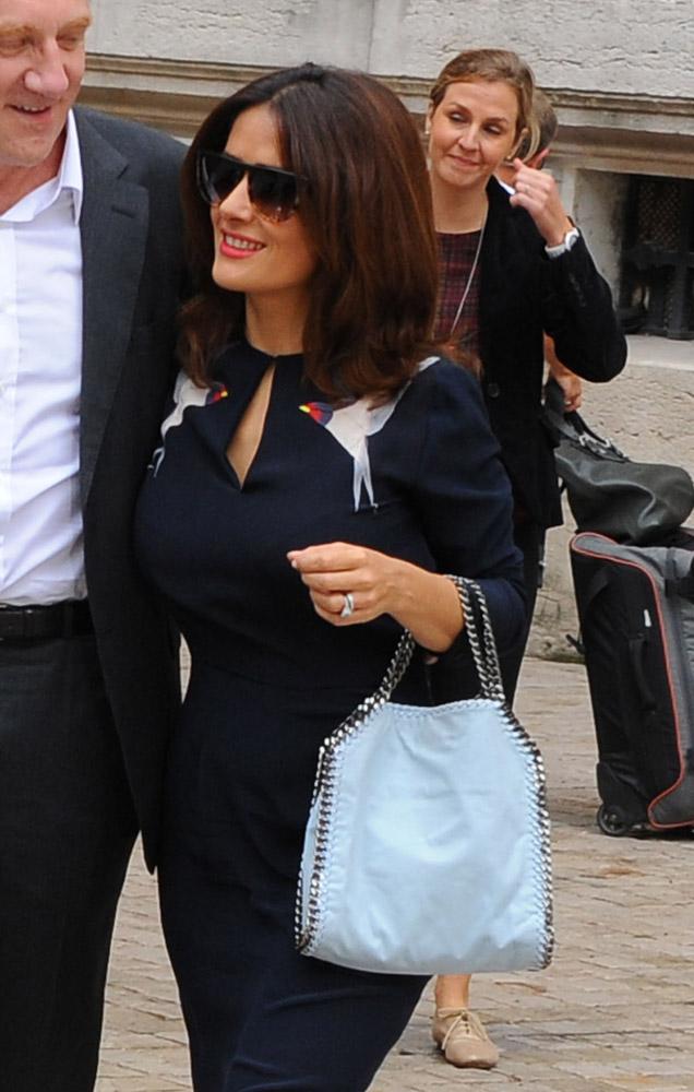 Celebrity Handbags Paris Fashion Week Spring 2015-43