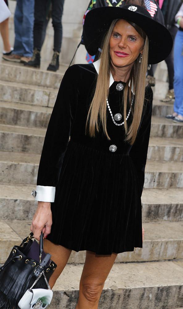 Celebrity Handbags Paris Fashion Week Spring 2015-44