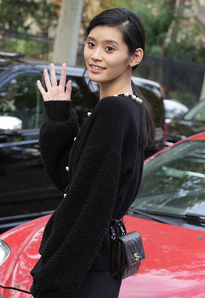 Celebrity Handbags Paris Fashion Week Spring 2015-5