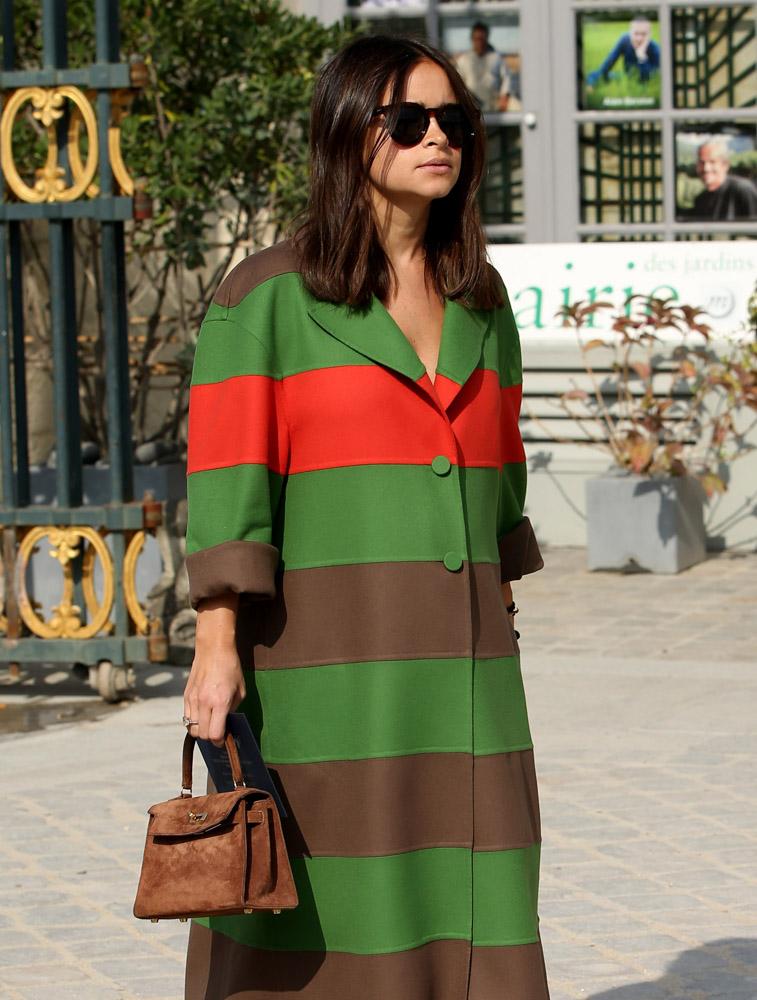 Celebrity Handbags Paris Fashion Week Spring 2015-50