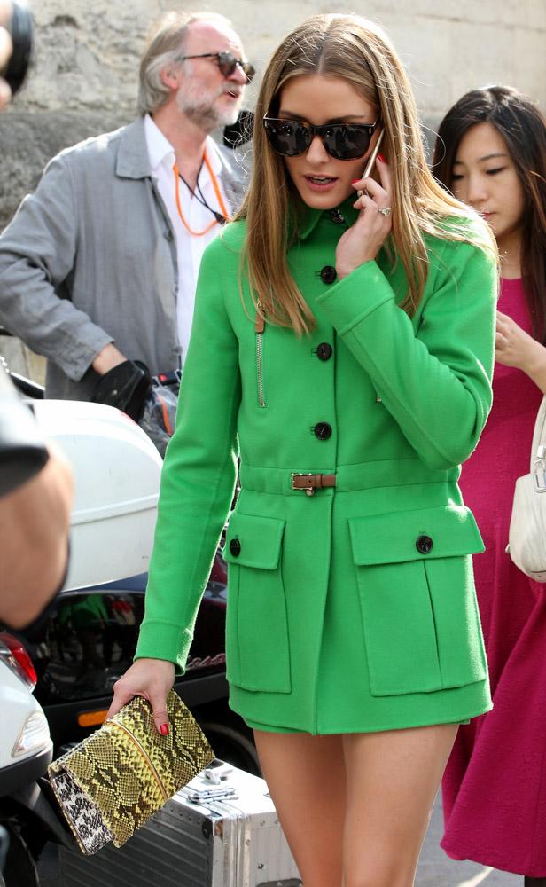 Celebrity Handbags Paris Fashion Week Spring 2015-53