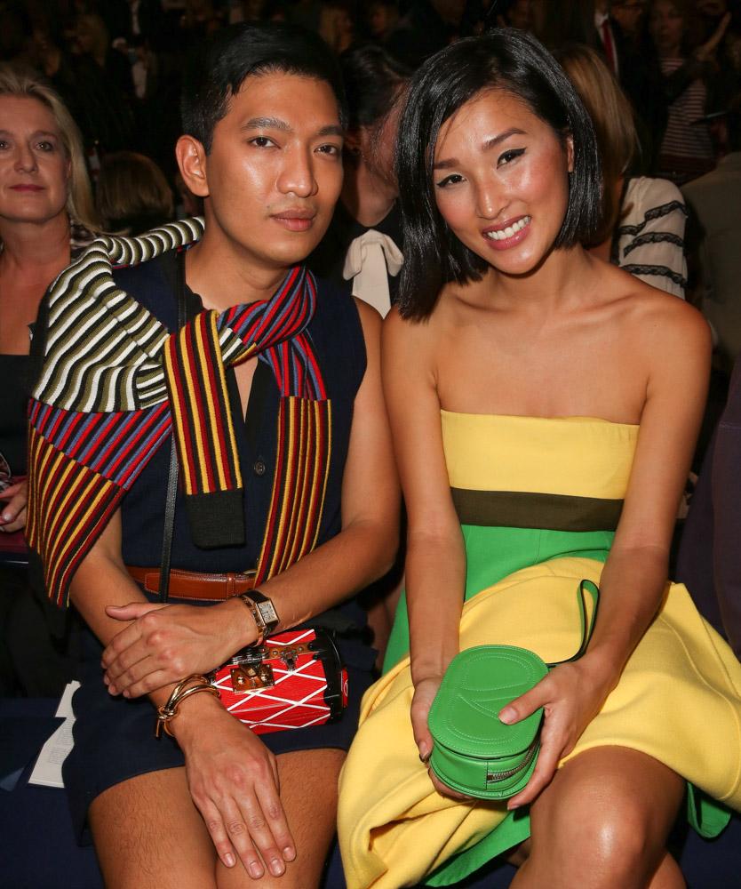 Celebrity Handbags Paris Fashion Week Spring 2015-57