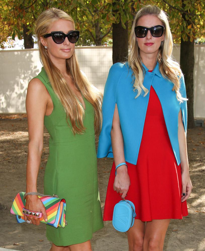 Celebrity Handbags Paris Fashion Week Spring 2015-59