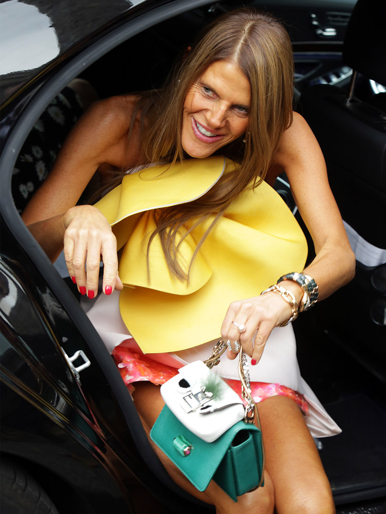 Celebrity Handbags Paris Fashion Week Spring 2015-6