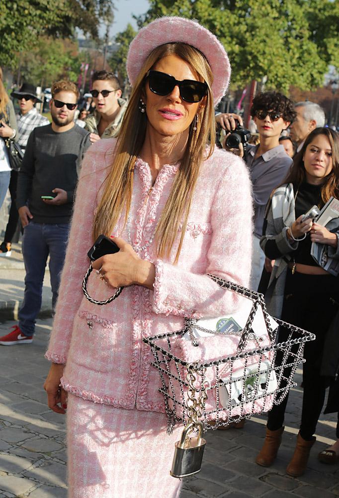 Celebrity Handbags Paris Fashion Week Spring 2015-60