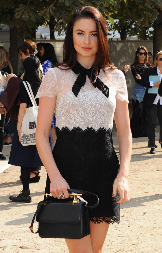 Celebrity Handbags Paris Fashion Week Spring 2015-62