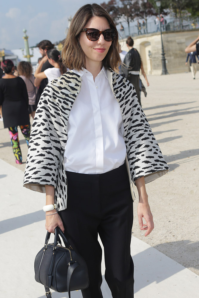 Celebrity Handbags Paris Fashion Week Spring 2015-64