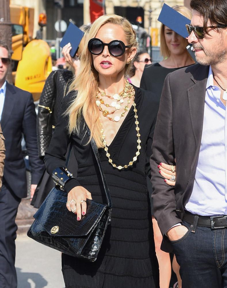 Celebrity Handbags Paris Fashion Week Spring 2015-65