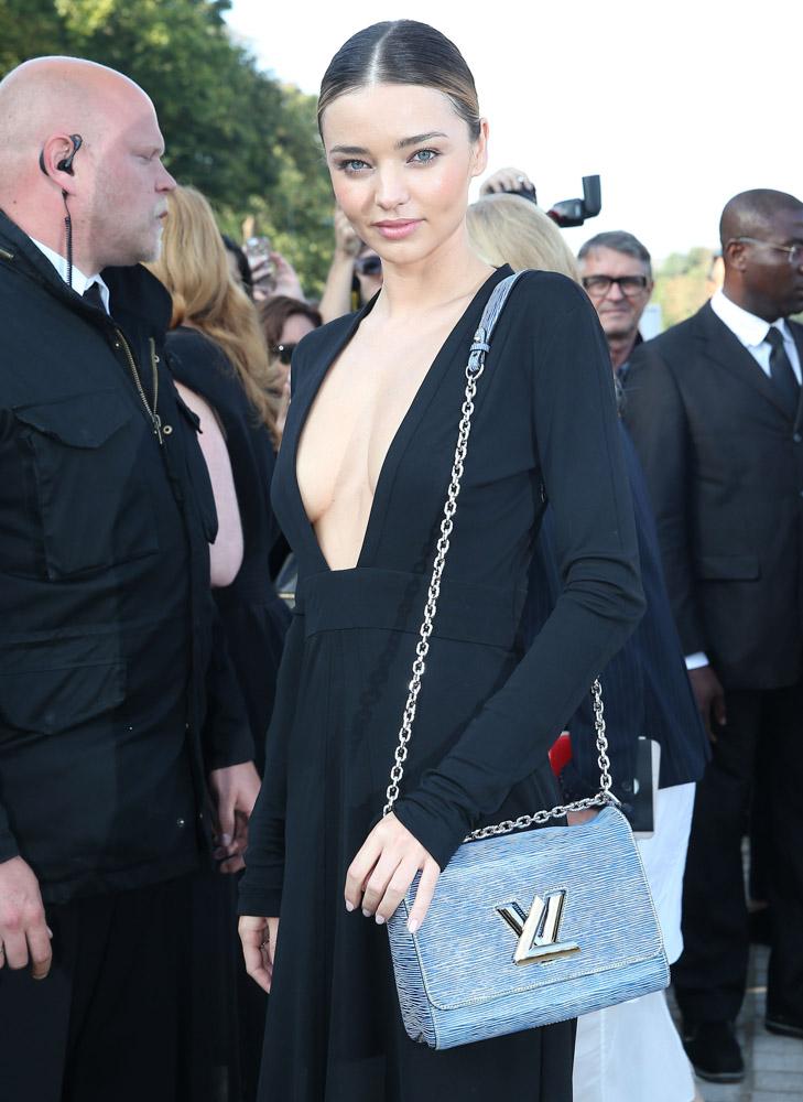Celebrity Handbags Paris Fashion Week Spring 2015-67