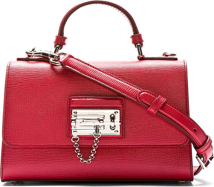 red d&g purse