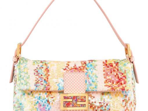Fendi Sequin Bagette Bag