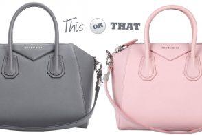 Grey or Pink? Help Me Pick a Givenchy Antigona