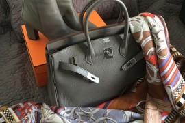 Hermes-Birkin-Boots-and-Scarf-2