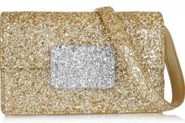 Saint Laurent Lulu Bunny Glitter Bag