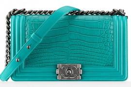 Chanel Alligator Boy Bag